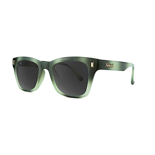 Knockaround Seventy Nines Polarized Sunglasses With Dark & Light Green Frames/Black Lenses ()