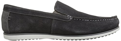 Hush Puppies Mens Bob Portland Slip-On Loafer Dark Grey WNdf47w