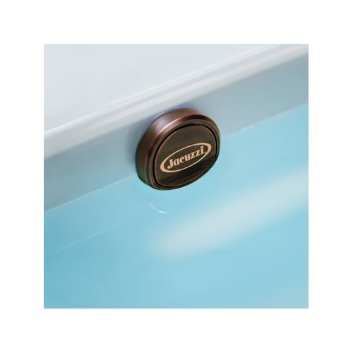 Jacuzzi LH33845 Oil Rubbed Bronze Toe-Tap Drain Assembly for Bath (Plastic Waste Oil Drain)