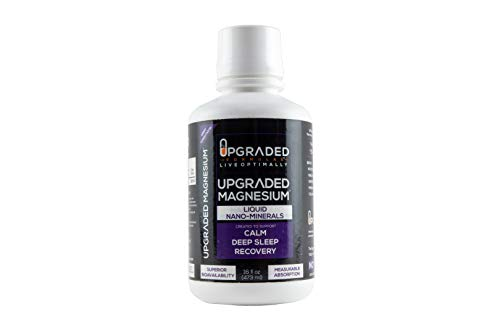 Upgraded Liquid Nano-Mineral Magnesium – New Size: 32OZ & 16OZ | Absorbs Instantly for Better Sleep: Make More Melatonin, Recover Faster, Reduce Soreness | Nano Ionic Magnesium Chloride Supplement For Sale
