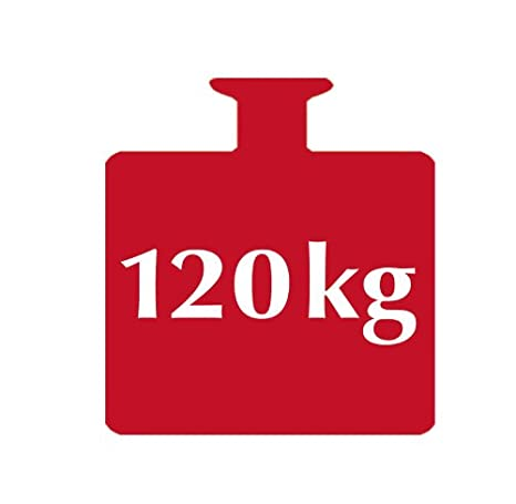Kunststoff 50 x 32 x 26 cm 120 kg Tragkraft Wei/ß Wannenhocker WENKO 17929100 Duschhocker Secura Wei/ß