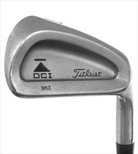 Titleist Dci 962 Right-Handed Iron Set Steel Stiff