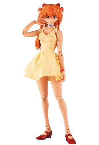 Real Action Heroes No 311 Soryu Asuka Langley   Yellow Dress Ver   Web Mail Order Limited Edition Items By Medicom Toy