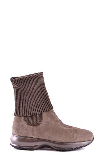 Hogan Damen MCBI148015O Braun Wolle Stiefeletten