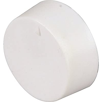 White Line Volt Thermostat Knob - Use with Our White Single or Double Pole Cover for Old Style S22 D22 - HVAC