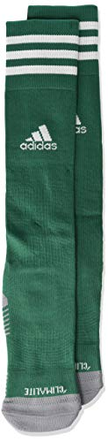 (adidas Copa Zone Cushion IV Soccer Socks (1-Pack), Collegiate Green/White, 5-8.5)