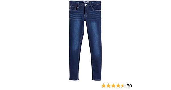 Real Love Girls/' 5 Pocket Vintage Denim Skinny Jeans with Super Stretch Fabric
