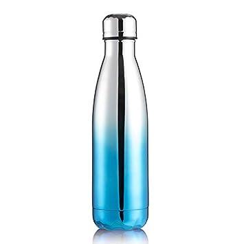 LXXTI Botellas de vacío, Termo de Agua Aislado de Doble Pared para ...