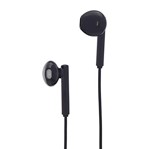 AmazonBasics Earphones with Lightning Connector - Apple MFi Certified, Black