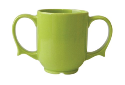 Patterson Medical Dignity Two Handled Mug - Green