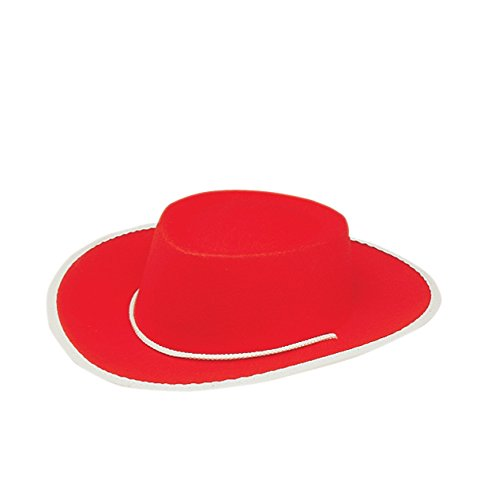 (Jacobson Hat Company Child's Permafelt Cowboy Costume, Red,)