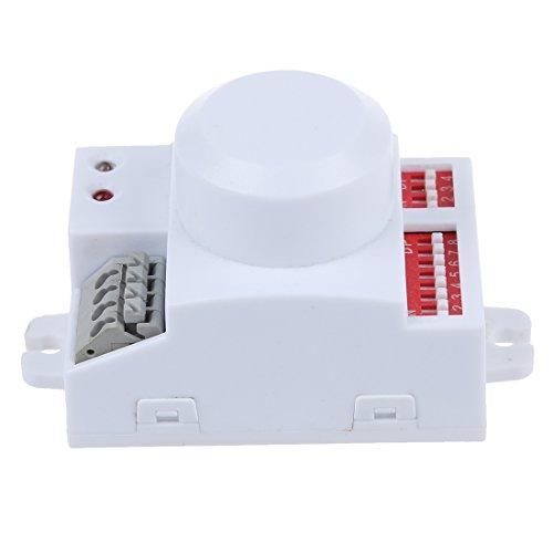 motion sensor switch - SODIAL  Microwave motion sensor switc