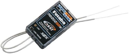 Futaba R6202SBW 2.4GHz FASST 3-18 Channel Micro Dual SBus HV Rx Receiver