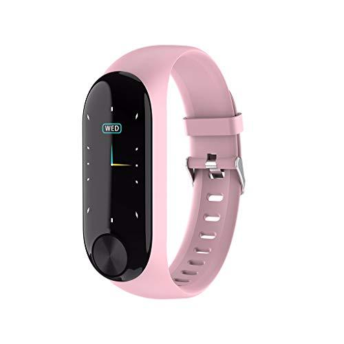 CZYCO Waterproof Smart Watch Sports Fitness Activity Heart Rate Tracker Watch Calories Ergonomic Design (Pink)
