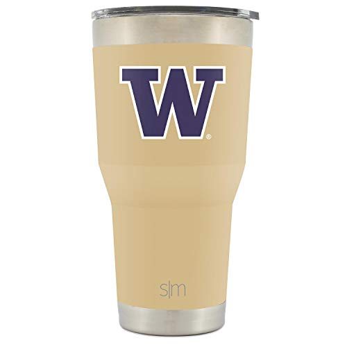 - Simple Modern College Tumbler Washington Huskies