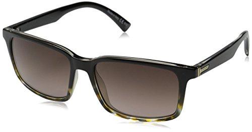 VonZipper Pinch Rectangular Sunglasses, Tort Black, 56 - Seattle Prescription Sunglasses