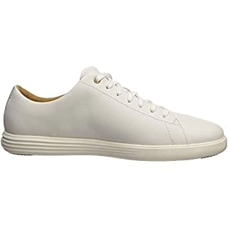Cole Haan Men's Grand Crosscourt II Sneaker, White Leather, US 14M