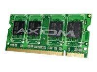Axiom AX - DDR3-2 GB - SO-DIMM 204-pin - 1333 MHz / PC3-10600 - unbuffered - Non-ECC - for Apple iMac