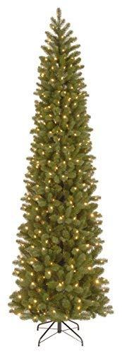 National Tree 9 Foot Downswept Douglas Fir Pencil Slim Tree 9' Slim Christmas Tree