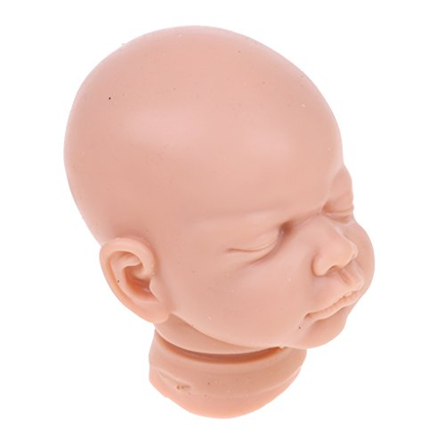 MagiDeal Unpainted 22inch Reborn Kits Soft Solid Silicone Head & 3/4 Arms &Legs Blank Mold Baby Doll DIY Handmade Kit by Unknown (Image #5)