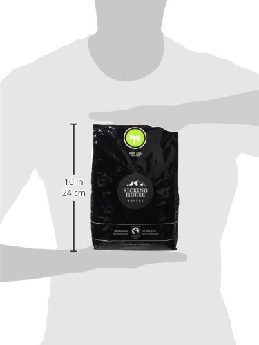 Kicking Horse Coffee, Kick Ass, Dark Roast, Whole Bean, Certified Organic, Fairtrade, Kosher Coffee, 2.2 Lb, 35.2 Ounce