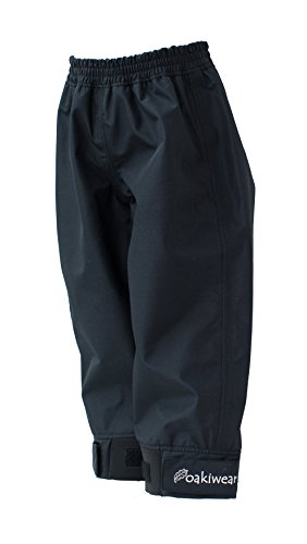 Oakiwear Kids' Trail Rain Pants | Black, Yellow, Blue, Purple, Hot Pink, Orange, Green, Navy Blue