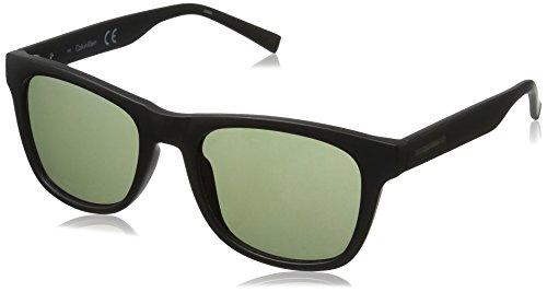 - Calvin Klein Men's R739S Square Sunglasses, Matte Black, 52 mm