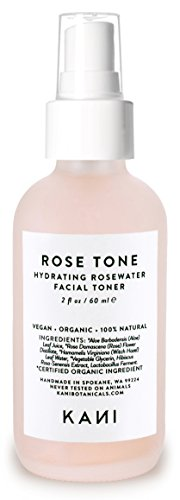 Organic Rose Tone Face Mist, Kani Botanicals