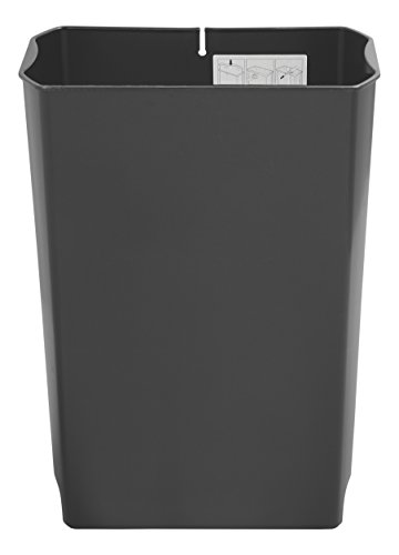- Rubbermaid Commercial Slim Jim Front Step-On Trash Can Rigid Liner, Plastic, 24 Gallon