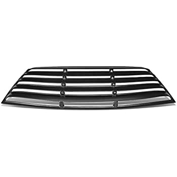3Pcs Tape-On Rear Quarter Side Window Louver Sun Shade for Dodge Challenger 08-19