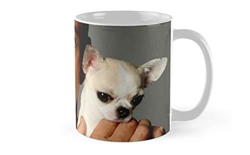Jean-Claude Van Damme Holding a Dog Mug(One Size)