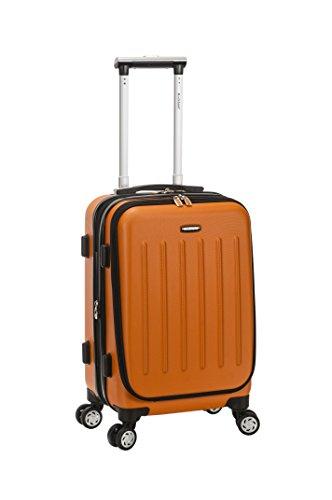 Rockland Titan 19 Polycarbonate Spinner Carry On, Orange