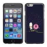 Cross Bones iPhone 6 Plus Black Tough Phone Case - Design By Humans