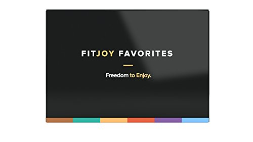 FitJoy Nutrition Protein Bar 6 Flavors Variety Pack, 6 Count