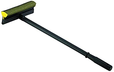 "Impact 7458 Window Cleaner/Sponge Squeegee, 21-1/2"" Length x 8"" Width, Black/Yellow (Case of 24)"
