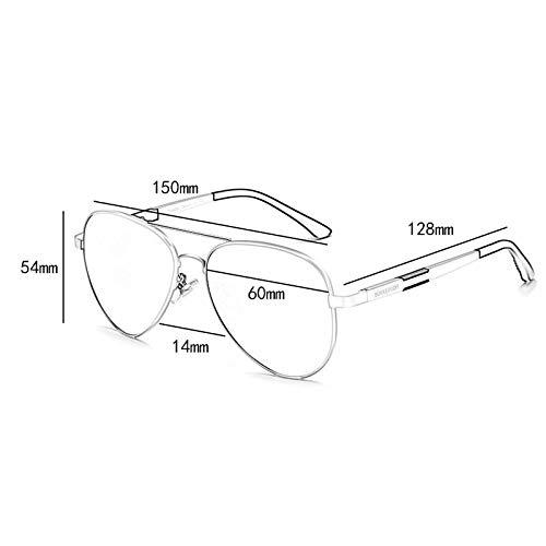 Running la Vogue polarizadas de Aviador conducción de Personalidad sol Gafas Espejo de UV 4 Hombres fXpqwx