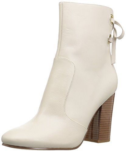 Leather Boot Fashion Off Chandice West Women's White Nine awq0pAf8q