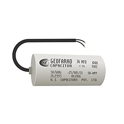 DEEPAK ELECTRICALS Geofarad Capacitors for fans, Coolers and Motor