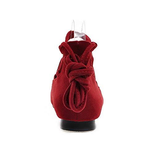 Donna 35 An Dgu00602 Sandali red Con Zeppa Rosso xHIq0H