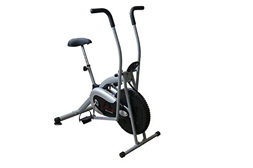 Sunny Health & Fitness Cross Training Fan Bike by - SF-B2621 Cross Training Fan Bike, Gray