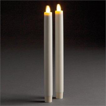 Napa Home & Garden Lightli Mving Flame Tapr 1X10.5, Set of 2