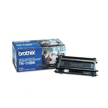 Brother TN115BK Toner Cartridge, 5000 Page-Yield, Black