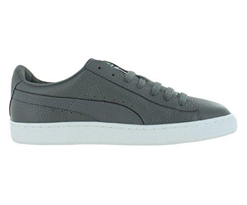 Puma Basket 3d Snelle Fwd Mode Sneakers Staal Grijs