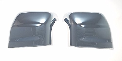 Trim Illusion Fits 16-18 Nissan Titan - Chrome Mirror Covers ()