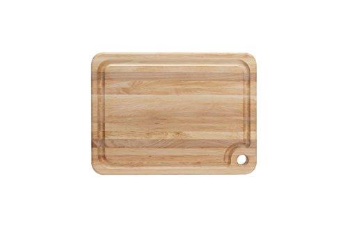 John Boos Block MPL2015125-FH-GRV Prestige Maple Wood Grain Cutting with Juice Groove, Inches x