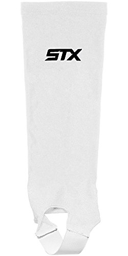 STX Field Hockey Shin Guard Socks, White