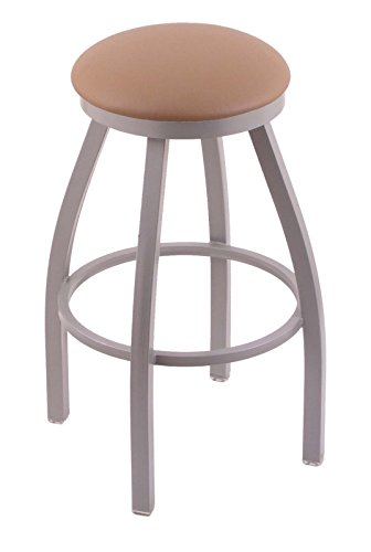 31lZdX7Lc3L - Holland-Bar-Stool-Co-802-Misha-25-Counter-Stool-with-Anodized-Nickel-Finish-and-Swivel-Seat-Allante-Beechwood