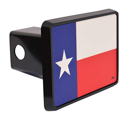 Rogue River Tactical Texas State Flag Trailer Hitch Cover Plug US Patriotic Lone Star State TX -