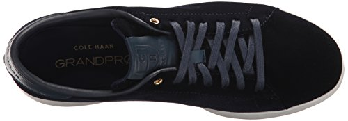 Cole Haan Femmes Grandpro Tennis En Cuir Dentelle Ox Mode Sneaker Marine Bleu
