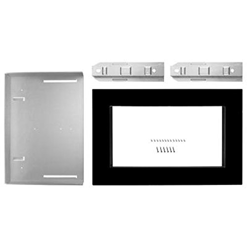 Kitchenaid Black Built-In Microwave Trim Kit